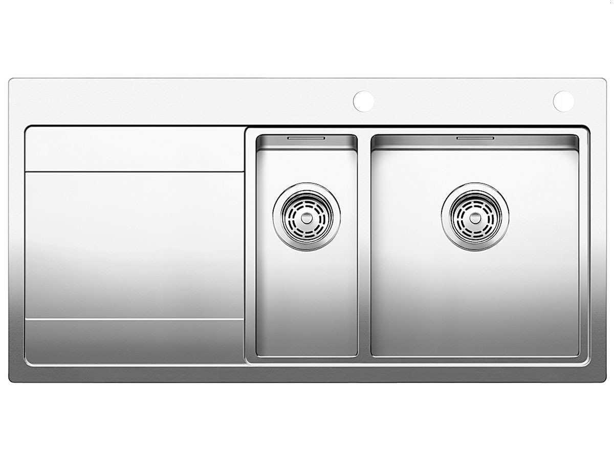 Blanco Edelstahl Seidenglanz Divon II 6 S-IF, Küchenspüle - modern ...