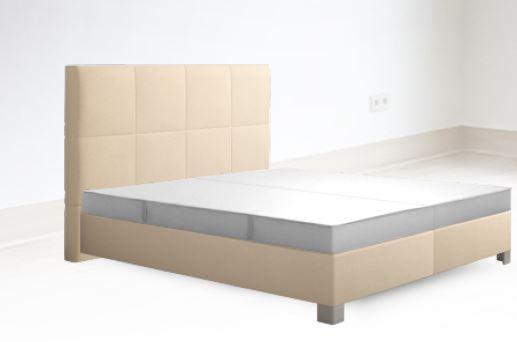 sembella boxspringbett basic mit geltex matratze manchester 180 x 200 cm modern life shop. Black Bedroom Furniture Sets. Home Design Ideas