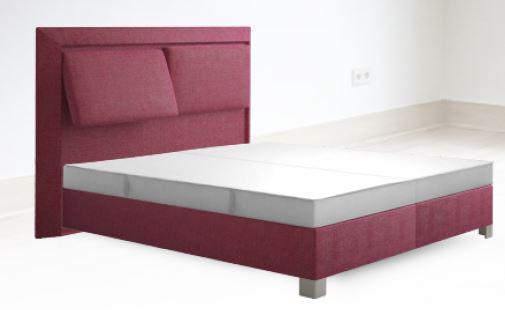 sembella boxspringbett basic mit bettkasten und taschenfederkerndekor inkl topper 200 x 200 cm. Black Bedroom Furniture Sets. Home Design Ideas