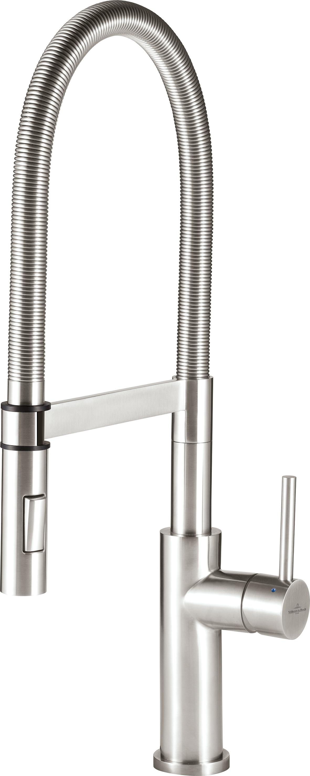Villeroy & Boch Edelstahl Küchenarmatur Steel Expert - modern life ...