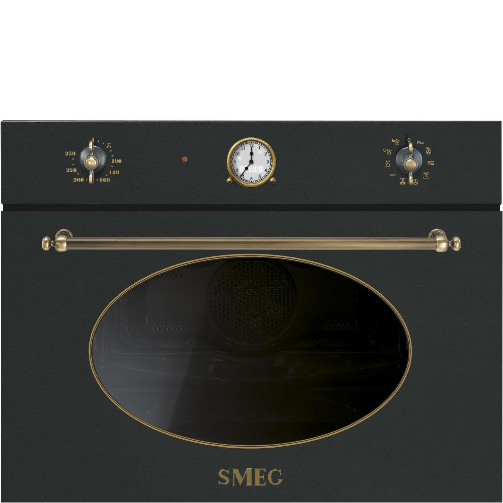 SMEG Einbau Backofen 60 cm, Design Nostalgie modern life