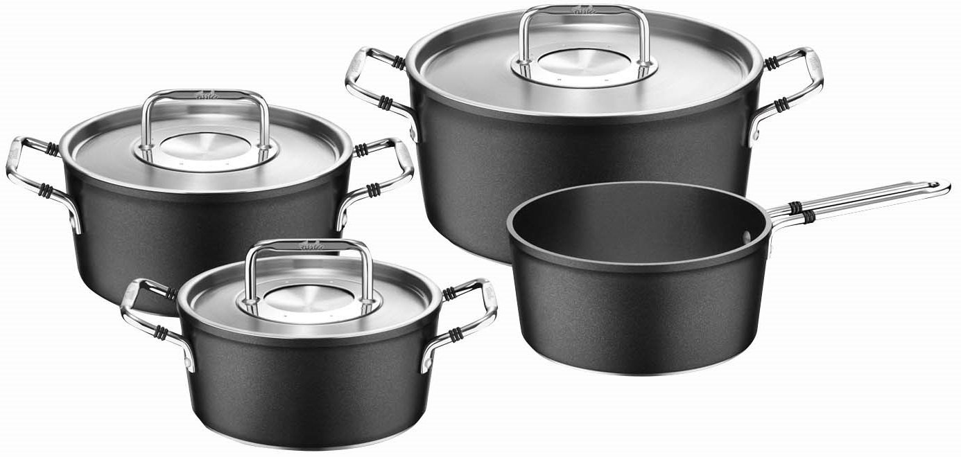 fissler kochtopfset interesting fissler kochtopfset with fissler kochtopfset king kochtopf set. Black Bedroom Furniture Sets. Home Design Ideas