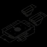 BORA Basic Flächeninduktions-Glaskeramik-Kochfeld mit integriertem ...