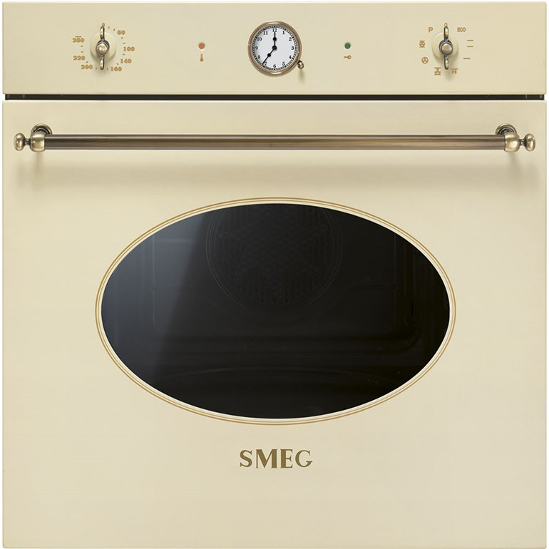 Smeg Einbau Backofen Messing Antik Design Modern Life Shop